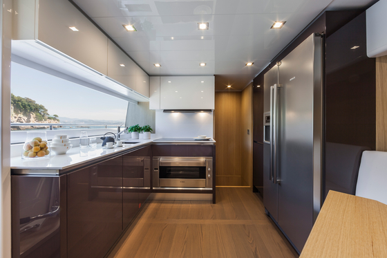 Ernestomeda Yacht Division by Ernestomeda | Fitted kitchens