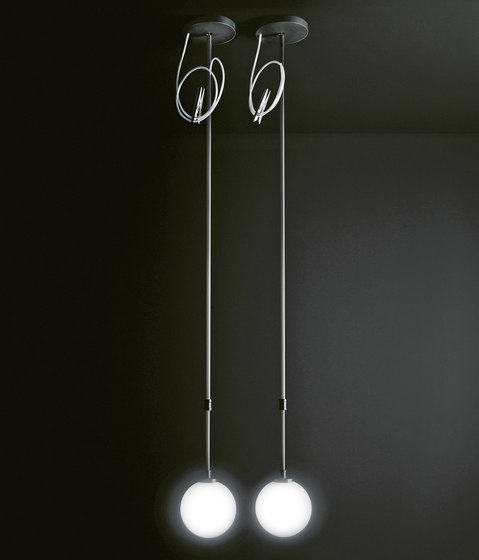 Boccia lamps suspended by Boffi | General lighting