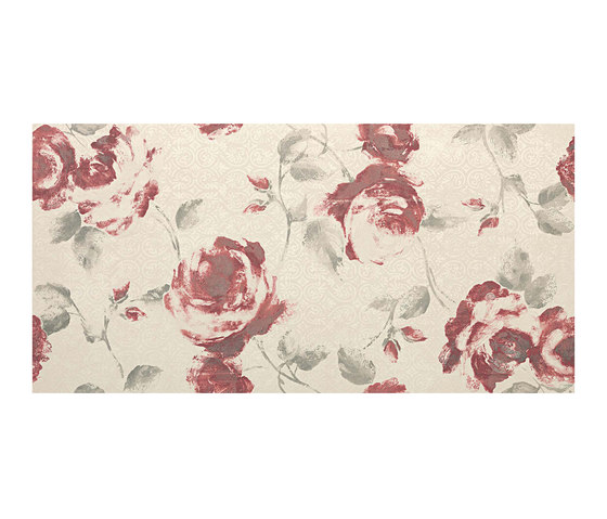Ewall White Roses by Atlas Concorde | Wall tiles