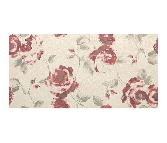 Ewall White Roses by Atlas Concorde | Ceramic tiles