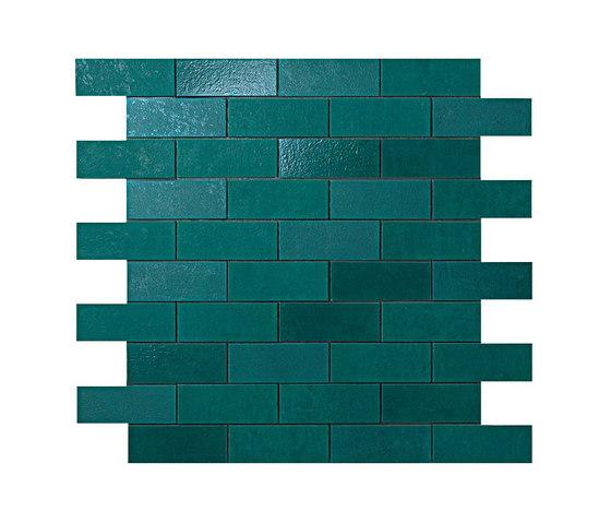 Ewall Petroleum Minibrick by Atlas Concorde | Ceramic tiles