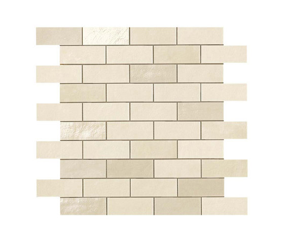 Ewall White Minibrick by Atlas Concorde | Ceramic tiles