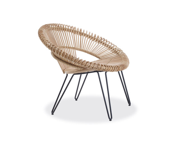 Curly - Cruz lazy chair by Vincent Sheppard | Lounge chairs