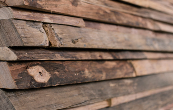 Gallon by Wonderwall Studios | Wood panels