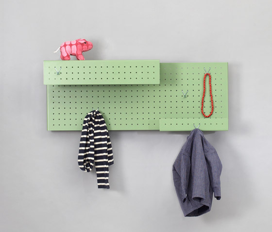 Raster warderobe by Utensil | Shelves