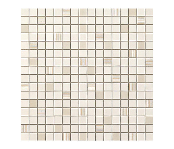 Mark Ivory Mosaico by Atlas Concorde | Ceramic mosaics