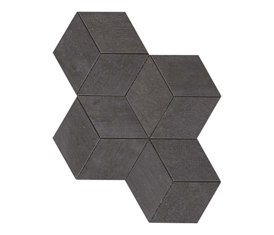 Mark Graphite Esagono by Atlas Concorde | Tiles