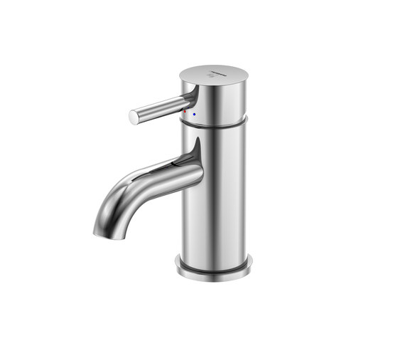 100 1010 Single lever basin mixer without pop up waste by Steinberg | Wash basin taps