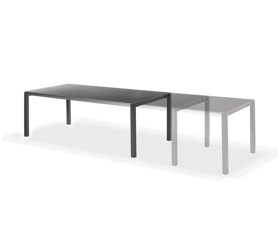 Rio front slide extension table by Fischer Möbel | Dining tables