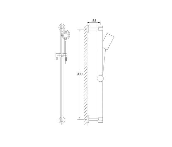 100 1602 Shower set by Steinberg | Shower controls