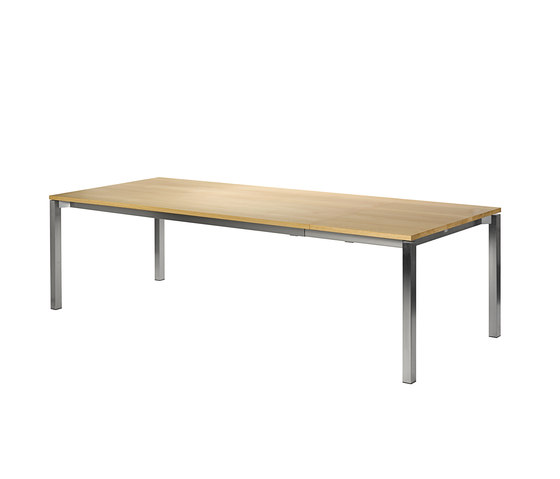 Modena front slide extension table by Fischer Möbel | Dining tables