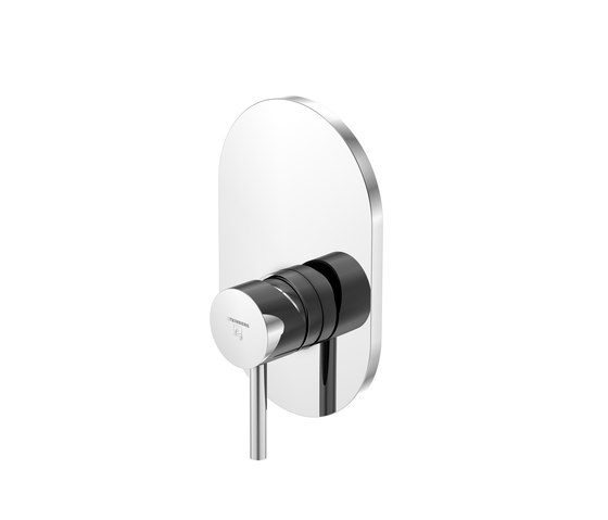 100 2243 Finish set for single lever shwoer mixer by Steinberg | Shower controls