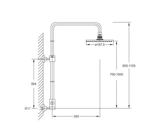 100 2780 Shower set by Steinberg | Shower controls