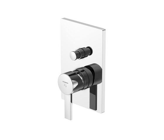 120 2103 Finish set for single lever bath/shower mixer with diverter by Steinberg   Bath taps