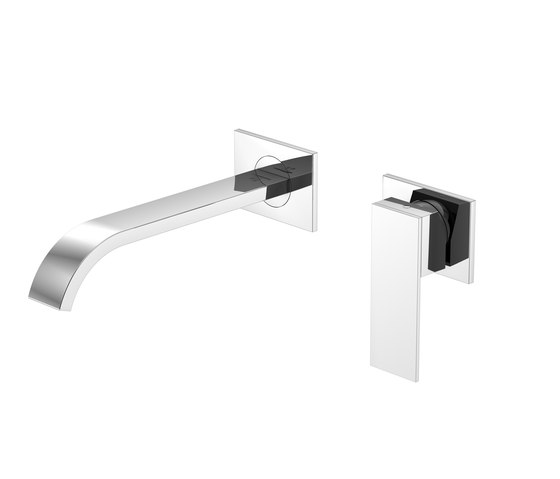 135 1817 Wall mounted single lever basin mixer by Steinberg | Wash basin taps