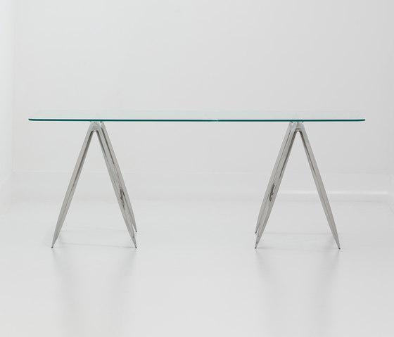 Koza | inox steel by Zieta | Trestles