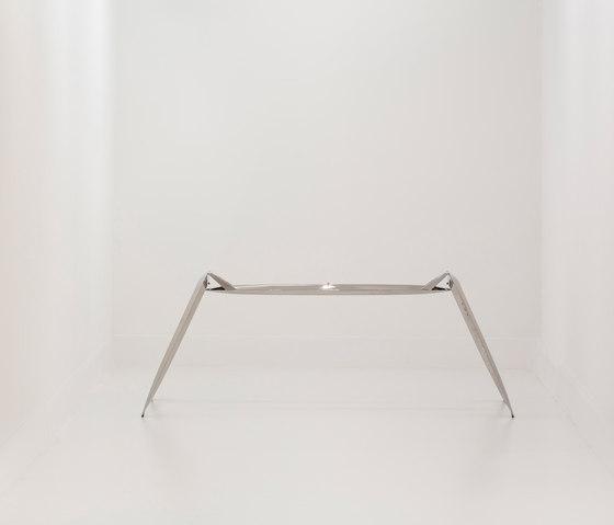 Nogi | inox steel by Zieta | Trestles