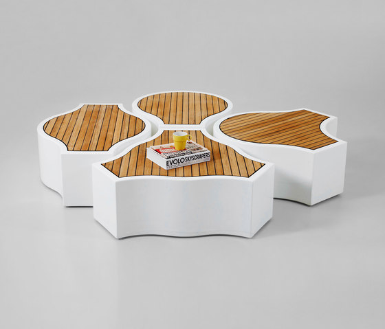 Compound Yacht by Jangir Maddadi Design Bureau | Modular seating elements