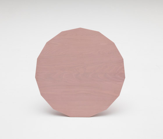 Colour Wood Pink by Karimoku New Standard | Side tables