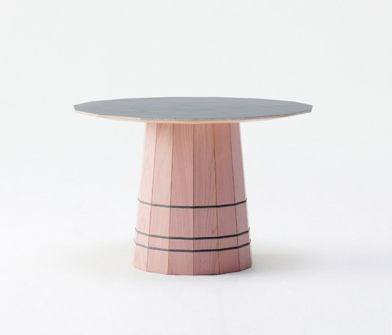 Colour Wood Dark Grid by Karimoku New Standard | Side tables