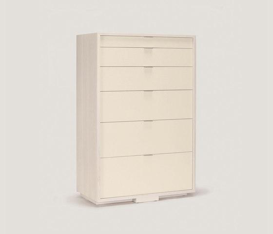 lineground 6-drawer vertical bureau di Skram | Credenze