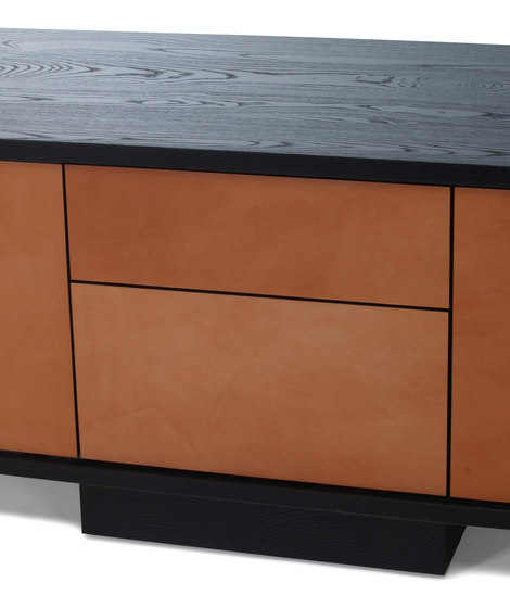 lineground lowdown media unit by Skram | Multimedia sideboards