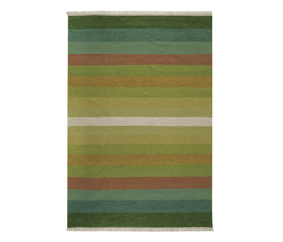 Tofta wave green by Kateha | Rugs / Designer rugs