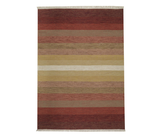 Tofta wave red by Kateha | Rugs / Designer rugs