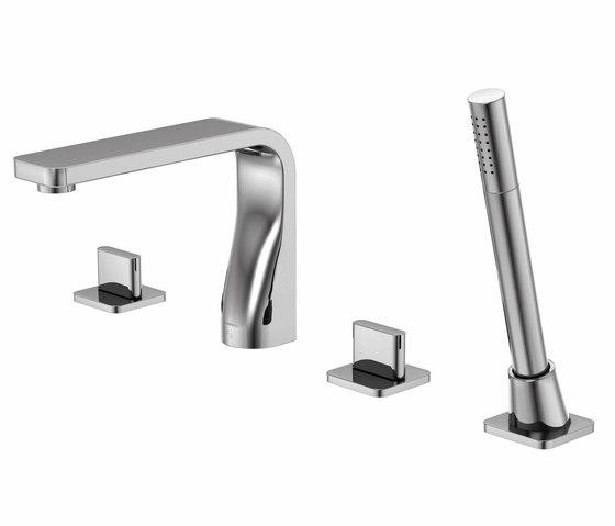 230 2400 4-hole deck mounted bath mixer by Steinberg | Bath taps