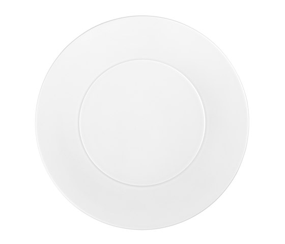 AURÉOLE Bottom plate by FÜRSTENBERG | Dinnerware