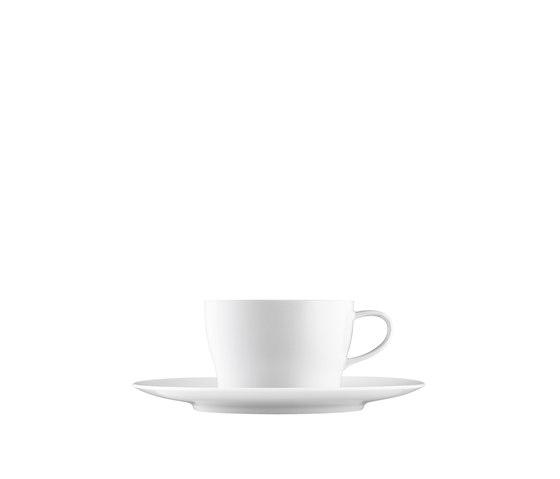 AURÉOLE Tea/Cappuccino cup, saucer by FÜRSTENBERG | Dinnerware