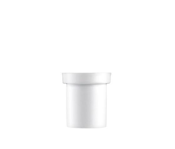AURÉOLE Porcelain tea strainer by FÜRSTENBERG | Dinnerware