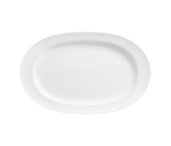 WAGENFELD WEISS Platter oval by FÜRSTENBERG | Dinnerware