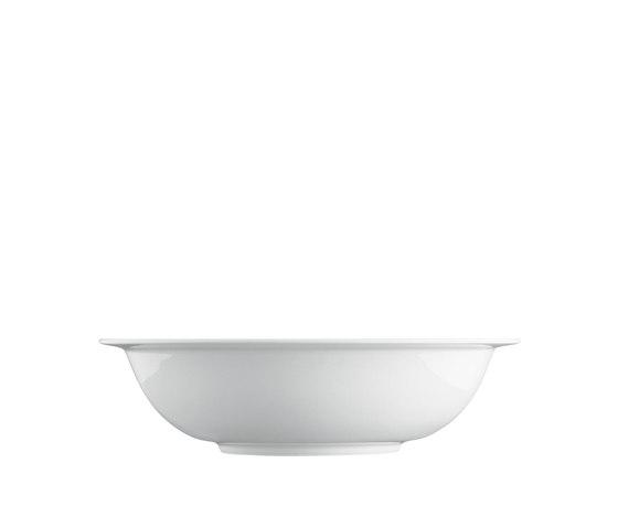 WAGENFELD WEISS Salad bowl by FÜRSTENBERG | Dinnerware