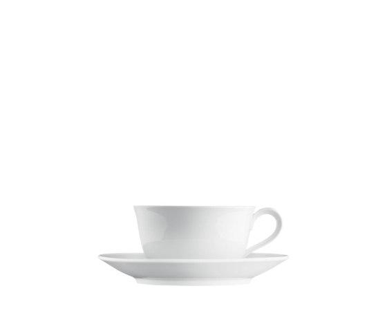WAGENFELD WEISS Cappuccino cup, Saucer by FÜRSTENBERG | Dinnerware