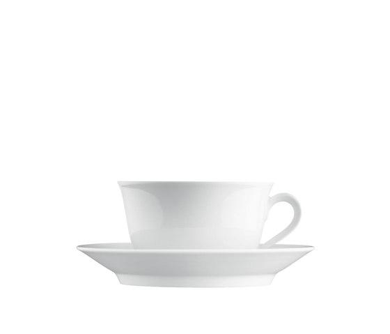 WAGENFELD WEISS Breakfast cup, Saucer by FÜRSTENBERG | Dinnerware