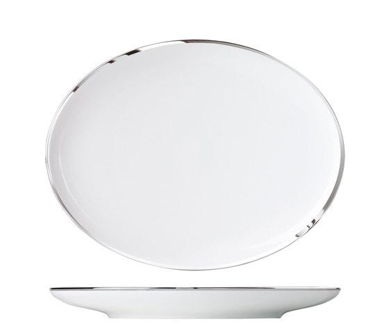MY CHINA! TREASURE PLATINUM Plate oval by FÜRSTENBERG   Dinnerware