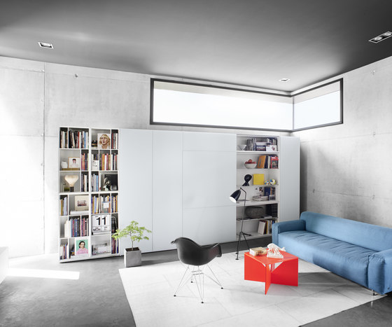 Alea Living by Kettnaker   Wall storage systems