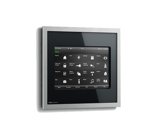 control 9 knx knx systems from gira architonic. Black Bedroom Furniture Sets. Home Design Ideas