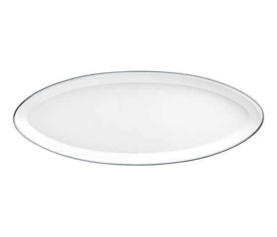 CARLO PLATINO Tableau oval by FÜRSTENBERG | Dinnerware