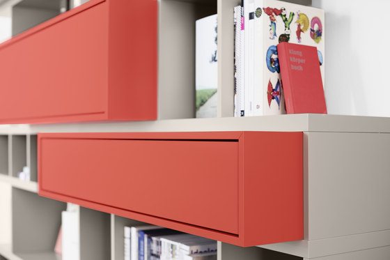 Piano by Kettnaker | Shelving systems