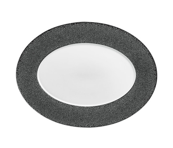 CARLO ZIGRINO Platter oval by FÜRSTENBERG | Dinnerware