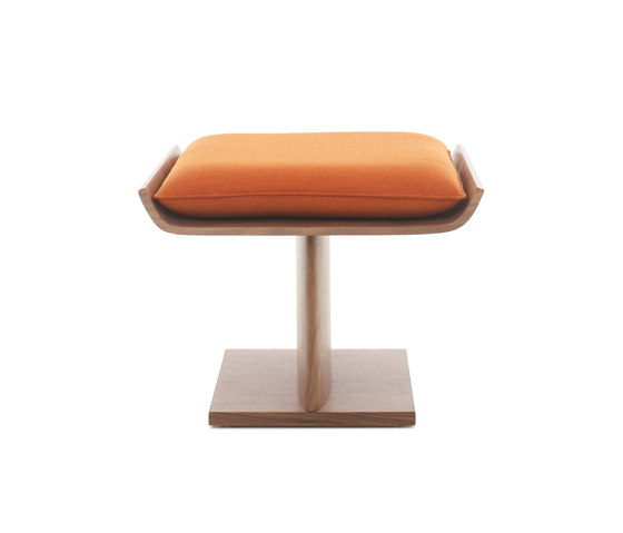 Brasilian Upholstered Stool von Stellar Works | Hocker