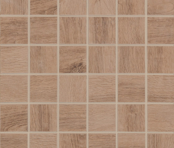 Treverkhome Rovere Mosaico de Marazzi Group | Mosaicos de cerámica
