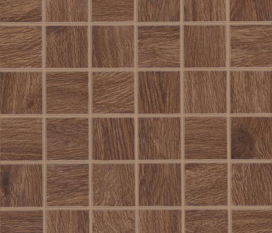 Treverkhome Castagno Mosaico de Marazzi Group   Mosaïques céramique