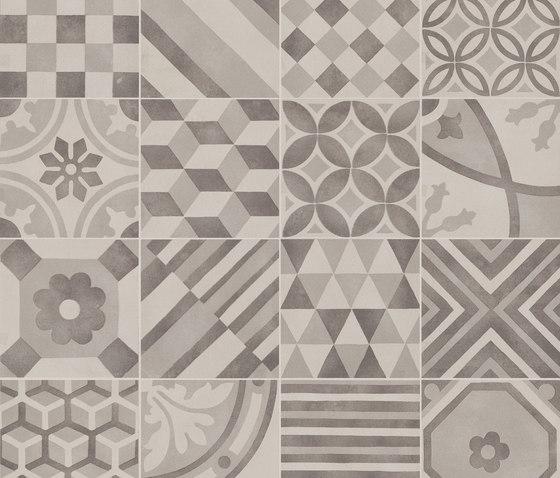 Block Decoro Mix Silver by Marazzi Group | Mosaics