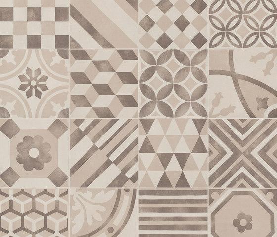 Block Decoro Mix White/Greige/Mocha di Marazzi Group | Mosaici ceramica