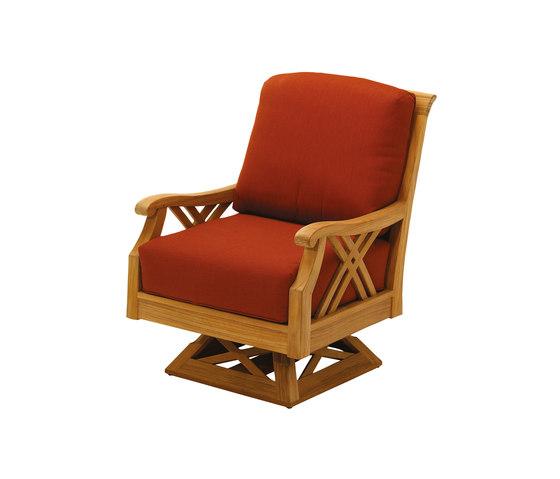 Halifax Deep Seating Swivel Rocker von Gloster Furniture GmbH | Sessel
