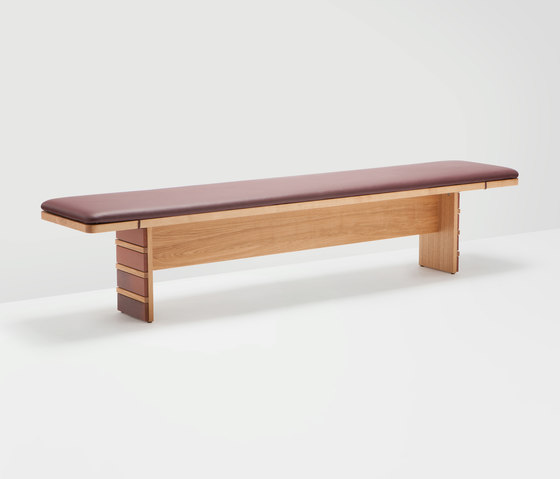 Brick bench by H Furniture | Waiting area benches