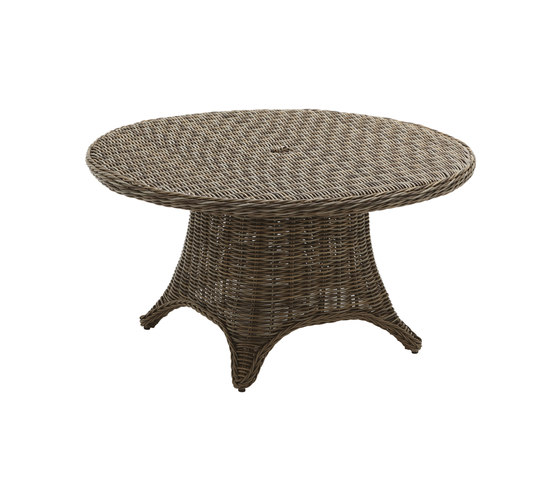 Havana 54 inch Round 6-Seater Table by Gloster Furniture GmbH | Dining tables